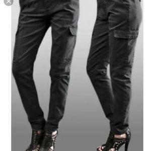 JOES jeans black cargo pants 27